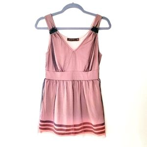 The Limited Sheer Ombre Babydoll Sleeveless Top